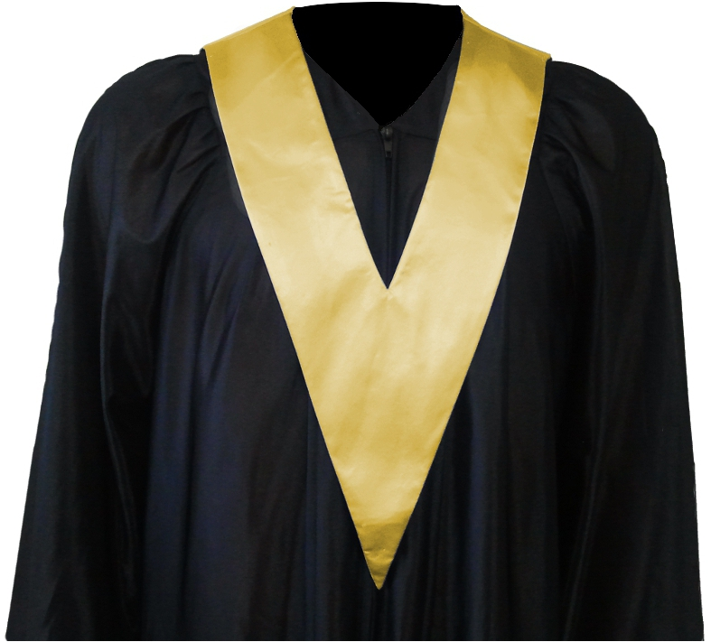 Graduation Gown   Student-Tie in colour gold | Square Caps®