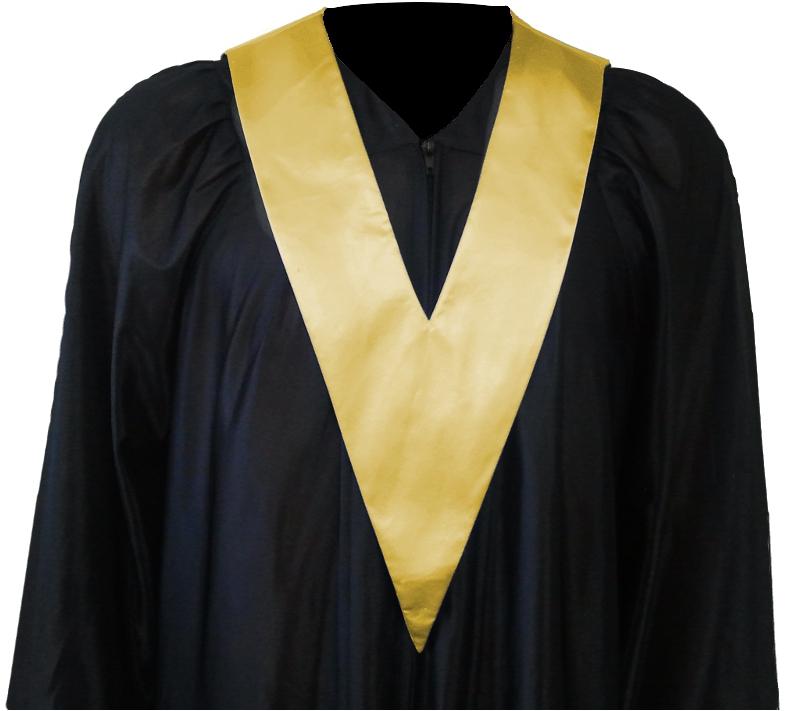 Graduation Gown   Student-Tie in colour gold | Square Caps®