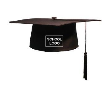 Square Caps vanaf 2 euro ook met schoollogo !